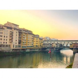 regram @eisaura the oldest bridge in Florence with the secret passage of Medici family above it    Ponte Vecchio    Vasari Corridor #firenze #florence #italy #pontevecchio