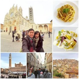 regram @eisaura Another medieval town in the heart of Tuscany: Siena. It is famous for the annual Palio di Siena horse race held for centuries right on the central shell-shaped Piazza del Campo. A visit to this town wouldn't be complete without a plate of Pici pasta which originates in Siena. We randomly picked a restaurant called Numero Unico and tried the Pici with wild thyme & duck sauce and Tortelli with veal meat & parmesan cream - it was a great surprise! One of the best meals we had in Italy 🇮🇹 #takemeback #siena #italy #tuscany #pasta #europe #europetrip #explore #exploreeurope #medieval #throwback #piazzadelcampo #paliodisiena #cathedral #duomo #travelbug #travelgram #jetsetter #traveltheworld #wanderlust #lonelyplanet #passionpassport #lifewelltravelled #lifeofadventures #neverstopexploring #stephenerlintraveldiary #expatexplore #expateuropeexplorer #winter #letsgoeverywhere