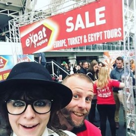 If you're in #London come down and meet us at the TNT Travel Show in Angel and check out the incredible #ExpatExplore #Europe tours on offer! Regram @shabbyontour #travel #tnttravelshow