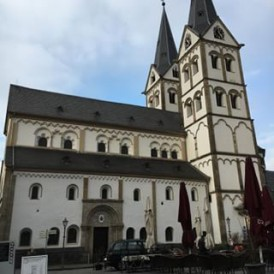 Great shot of a beautiful church in #Boppard in the Rhine Valley, #Germany from our tour leader Kevin @kevsworldtravels