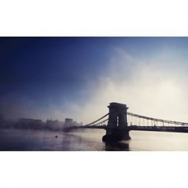 Incredible atmospheric photo of a foggy morning in Budapest by @empress_za