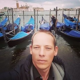 #Venice gondolas on the grand canal - experience it yourself on the #EuropeEscape tour. regram @9summits
