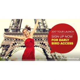 We've launched our 2017 tour departures - sign up now for Early Bird access and discounts of up to 50%! The launch will go live on 27 July 2016, with BRAND NEW tours, countries and destinations.Do not miss out on this opportunity to score massive discounts on #ExpatExplore tours - click the link in our bio to sign up! #LaunchMe2Europe