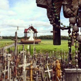 Hill of Crosses, #Lithuania Photo by @emilyfishyu