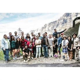 Expat Explore tour group in the stunningly beautiful Susten Pass, #Switzerland Photo by @expatsteveontour