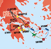 Best of Greece_map
