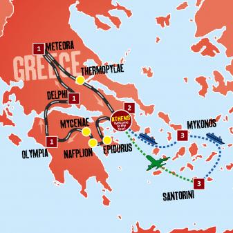 Best of Greece_map