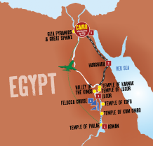 Nile Adventure map