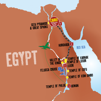 Nile Adventure map