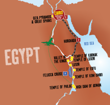 Nile Jewel map
