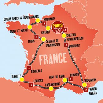 High France map