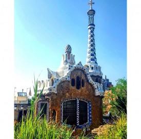 Spain Park Guell Barcelona
