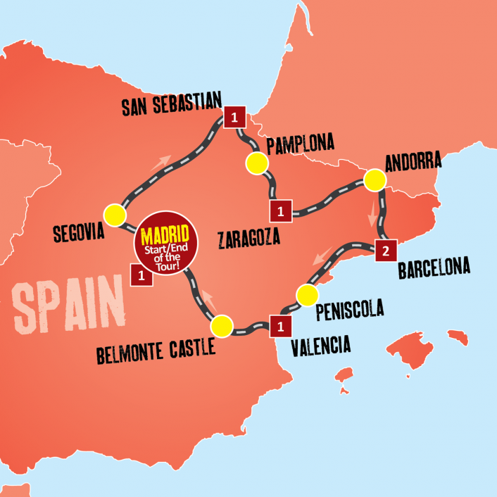 Get A Taste For All Things Spain On This 7 Day Introduction To The Food Culture And History Of This Amazing Country Spain Is One Of Europes Most Popular